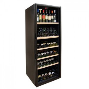 "Marvel Professional 15"" Wine Cellar w/ Black Cabinet and Locking"